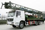 SPC400 montada en camión de plataforma de perforación de pozos de agua
