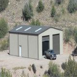 Edificio de la estructura de acero para el garage