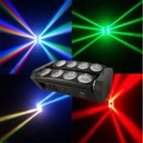 8つのPCSのビームランプが付いている180W LEDのくもの移動ヘッドライト