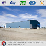 Sinoacme fabrizierte helle Stahlrahmen-Zelle-Werkstatt vor