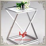 Torre moderna da flor da tabela do lado da tabela de chá da mesa de centro da tabela da mobília da mobília do hotel da mobília da HOME da mobília do aço inoxidável de tabela de console do carrinho do chá (RS162401)