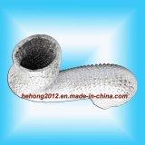 Alumínio flexível tubulações de ar Não-Isoladas