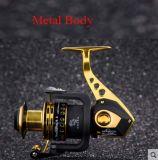 Kugellager-gute Qualitätsspinnende Fischen-Bandspule der Metallkarosserien-1000-7500 unterschiedliche der Größen-11+1