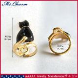 3 ПК/Set джентльмен Black Cat-лак для ногтей Набор колец мода Ювелирные изделия