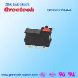 Microinterruptor 5A Spdt da comutação do interruptor IP67 da tecla impermeável micro