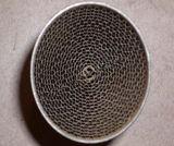 Metal de nido de abeja metálica sustrato sustrato portador de panal.