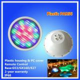 luz de la piscina de 12V 18W PAR56, luz subacuática del LED, luz de la piscina