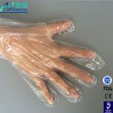 Guanto a gettare di Polyethene per il trattamento di alimento