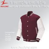 Healongロゴのカスタム冬のコートの野球のジャケット
