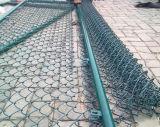 Загородка звена цепи PVC горячего сбывания Coated