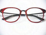 China Wholesale New Model Solid Óptica Óculos Frame