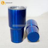 600ml青いステンレス鋼旅行コップ