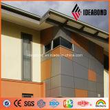 Материал отделкой внешней стены алюминия конструкции здания Ideabond самомоднейший (AF-411)
