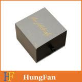 Spitzenoffsetdruckpapier-Geschenk-Kasten, Fach-verpackenden Papierkasten schiebend