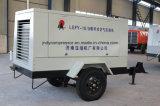 El uso de minas anti-despiece Rotary compresor de aire con motor