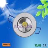 1W LEIDENE van Ce RoHS Bridgelux Downlight, LEIDENE Ceilinglight (80lm AC85~264V) (BC-ca5220-1W)