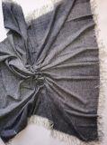 Het Licht van het kasjmier Geweven XL Geschilderde Sjaal