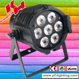 Selling chaud 7PCS*10W RGBW 4 dans 1 DEL PAR Light