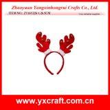 Décoration de Noël (ZY14Y32-3-4 22cm) Bandeau d'andouiller de Noël de la Chine des articles cadeaux