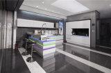 2016年のWelbomの現代白く光沢度の高くスマートな食器棚