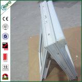 Высокое качество белый профиль UPVC двойные стекла на тент окна для дома