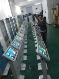 Publicidad del suelo de la visualización del LCD que coloca el quiosco de la pantalla táctil de 22 pulgadas