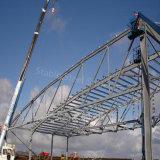 Structure légère en acier préfabriqué hangar avec certificat BV