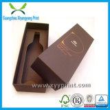 Contenitori impaccanti su ordinazione di vetro di vino di alta qualità con il marchio