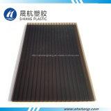 Het duidelijke en Donkere UV Beschermende Holle Blad van het Polycarbonaat van het Brons