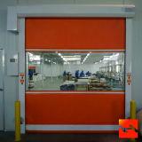 Transparentes Polycarbonat-schnelle Rollen-Blendenverschluss-Tür (HF-35)