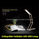 Lampe de lecture de bureau à LED moderne pliante