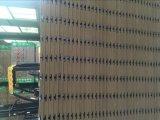 Fábrica de ranura y ranura blanca melamina MDF de 12 mm 18 mm 15 mm