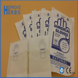 Luvas cirúrgicas de látex esterilizado descartáveis CE / ISO de alta qualidade