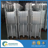 Aluminiumgatter Soem-1.3m*2m mit Fußrollen