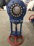 La valvola a saracinesca pneumatica idraulica della lama dei residui Dn100 scorre valvola di regolazione