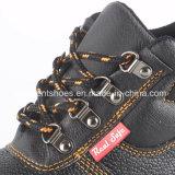 Промышленные кожаный ботинки безопасности с сертификатом RS8103 Ce