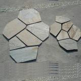 金スレートのFlagstoneのベニヤの壁(SMC-Y052)