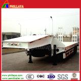3 ESSIEUX Modèle Europe scanner à plat pour le transport de conteneurs de remorque