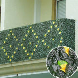 Topiary Plant Wall Fence Plastic Boxwood Mat Artificial Hedge