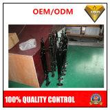 Modificado para requisitos particulares 304 escaleras de interior del acero inoxidable con color pintado negro