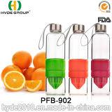 2016 bottiglie di acqua di plastica recentemente personalizzate di Infuser della frutta (PFB-902)