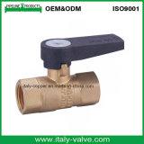Valve de gaz à gaz en laiton de qualité européenne (AV-BV-1049)