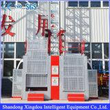 Sc Zhangqiuの構築の起重機または建築現場のラック・ピニオンのエレベーターの起重機か建物および建設用機器