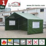واضحة فسحة بين دعامتين [15م] [غرين كلور] عسكريّة خيمة جيش إنقاذ خيمة