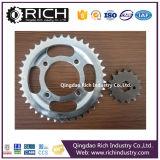 기관자전차는 Rolller 사슬 스프로킷 Whosale 저가 또는 롤러 사슬 스프로킷 또는 롤러 또는 바퀴 Assembly/CNC 기계로 가공하거나 트랙터 부속 또는 합금 바퀴 부속 분해한다