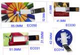 Entraînement par la carte de crédit de crayon lecteur de flash USB d'affaires en gros (EC050)