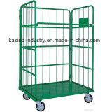 Carretilla plegable del acoplamiento de alambre del almacenaje, jaula del rodillo para el Sur Corea y Japón (alta calidad)