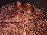 Sucata de cobre do fio