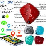 2017/3G Network Personnes âgées Mini Tracker GPS avec la caméra V42