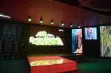 Tela LED Grid LED para Night Club, tela LED Floor Stage, tela criativa LED Grid